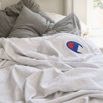 Champion Reverse Weave Throw Blanket   Urban Outfitters