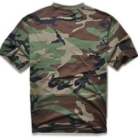 Hiking Shirt camping Summer Outdoors Hunting Camouflage T-shirt Men Breathable Army Tactical Combat T Shirt Military Dry Sport Camo Outdoor Camp Tee KO_17_1