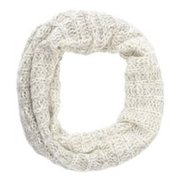 Marled Ombre Cowl Scarf by Charlotte Russe - Gray