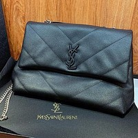 YSL Saint Laurent hot-selling classic catwalk handbags fashion ladies one-shoulder messenger bag large capacity chain bag