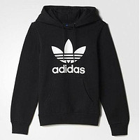 Adidas Woman Men Fashion Embroidery Scoop Neck Top Sweater Pullover