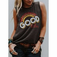 Good Vibes Hippie Tank Top