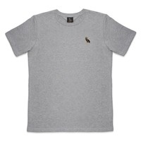 OWL PATCH CUT & SEW TEE SHORTSLEEVE T-SHIRT | October's Very Own