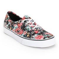 Vans Authentic Floral Print Shoes
