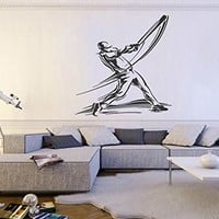 ik775 Wall Decal Sticker guitar music song artist notes chords bedroom teens