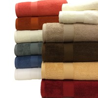Plush Combed Cotton 6-Piece Towel Set