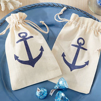 Anchor Favor Bag (Set of 12)