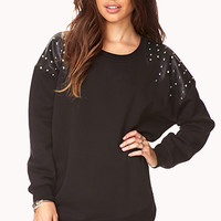 Studded Out Oversized Sweatshirt