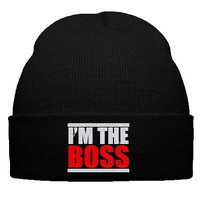 im the boss beanie i am the boss snapback i am the boss hat cap knit hat boss