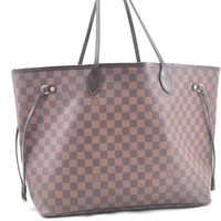 Authentic Louis Vuitton Damier Neverfull GM Tote Bag N51106 LV 51437