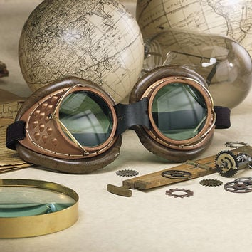 Steampunk Machinists Goggles - Women's Romantic & Fantasy Inspired Fashions