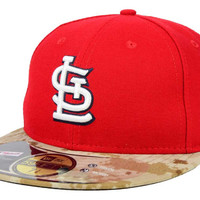 St. Louis Cardinals MLB 2015 Memorial Day Stars and Stripes 59FIFTY Cap