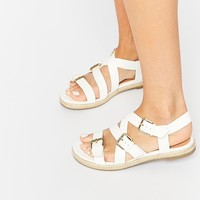 New Look Hespa Espadrille Gladiator Flat Sandals