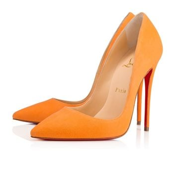 So Kate 120 Sunset Suede - Women Shoes - Christian Louboutin
