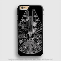 star wars ship map iPhone 6 Plus Case iPhone 6S+ Cases