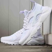 """NIKE""AIR Huarache Running Sport Casual Shoes Sneakers F white"