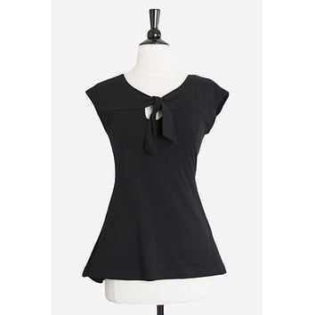 Song Blouse in Black