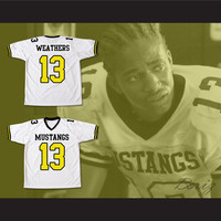 Jade Yorker Willie Weathers Kilpatrick Mustangs 13 Football Jersey Stitch Sewn New