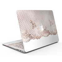Rose Gold Lace Pattern 6 - MacBook Air Skin Kit