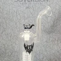Grid C5-B50 Water Pipe by Bent Glass Works