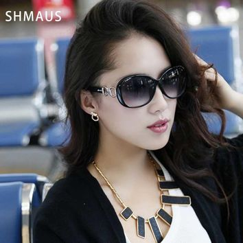 Shamus Brand Sunglass With Bag Polarized Sunglasses Women's Fashion UV400 Eyewear Lady's Sun Glasses Vintage Eyeglasses 2017