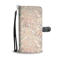 Science Notes Wallet Phone Case