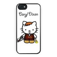 Daryl Dixon Walking Dead Hello Kitty iPhone 5/5S Case