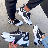 Nike Zoom 2K Black/White Running Sport Shoes Sneakers