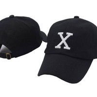 PEAPDQ7 Malcom X Embroidered Adjustable Cotton Baseball Golf Sports Cap Hat