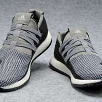 "Fashion ""Adidas"" Women Men Knitting Sneakers Sport Shoes"
