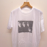 25% SALES ALERT Vintage 90's The Beatles Classic Rock N Roll Band T Shirt