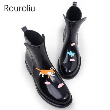 Women Ankle Length Water Proof Rain Boots