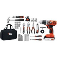 BLACK & DECKER, 20-Volt Max Lithium Drill and Project Kit, LDX120PK at The Home Depot - Mobile