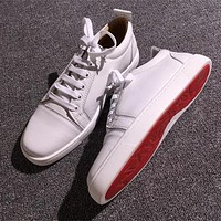 Christian Louboutin CL Low Style #2051 Sneakers Fashion Shoes Online