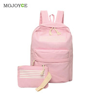 2 pcs Canvas Backpacks School Bags for Teenagers Backpacks for Teenage Girls Mochila Backpack Women Mochila Feminina