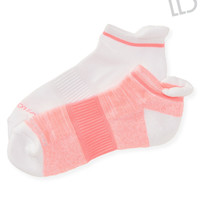 LLD 2-Pack Marled Athletic Ped Socks