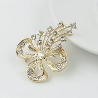 Jewelry New Arrival Shiny Gift Korean Stylish Hollow Out Diamonds Ring [6586076871]