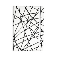 "Trebam ""Paucina v3"" Black White Everything Notebook"