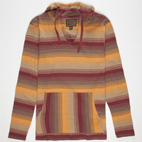 Volcom Mehico Mens Hooded Thermal Yellow Combo  In Sizes