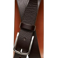 Banana Republic Pebbled Italian Leather Belt