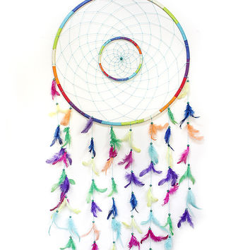 Oversized Bright Dreamcatcher
