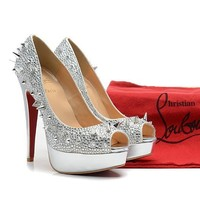 CL Christian Louboutin Fashion Heels Shoes-176