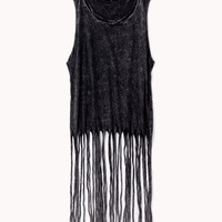 Fringed Muscle Tee