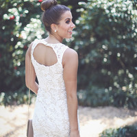 Web Exclusive: The Brittany Bridal Dress in Ivory