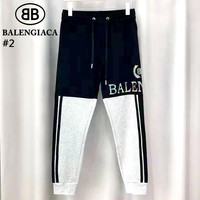 Balenciaga Tide brand men's and women's wild casual trousers #2