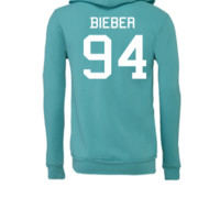 Bieber Shirt Justin Bieber - Unisex Full-Zip Hooded Sweatshirt