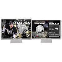 Pittsburgh Penguins NHL Evgeni Malkin Silver Coin Card