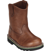 John Deer Kids Toddlers Johnny Popper Boots Brown