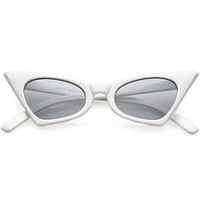 Fabulously Hip 1950's High Pointed Cat Eye Sunglasses C491