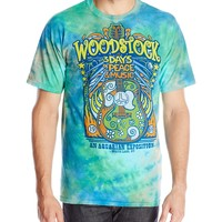 Liquid Blue Men's Woodstock Music Festival T-Shirt